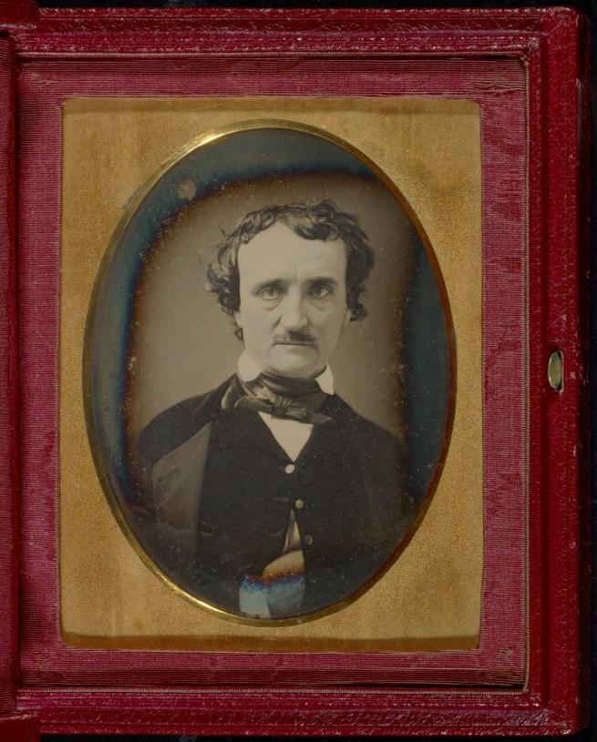 Unknown maker (American) 'Portrait of Edgar Allan Poe' late May - early June 1849