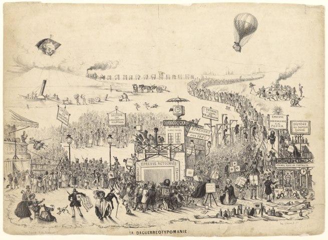 Théodore Maurisset (French, active 1834-1859) 'La Daguerreotypomanie (Daguerreotypomania)' December 1839