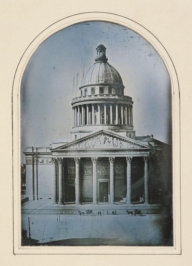 Alphonse-Louis Poitevin (French, 1819-1882) 'The Pantheon, Paris' 1842