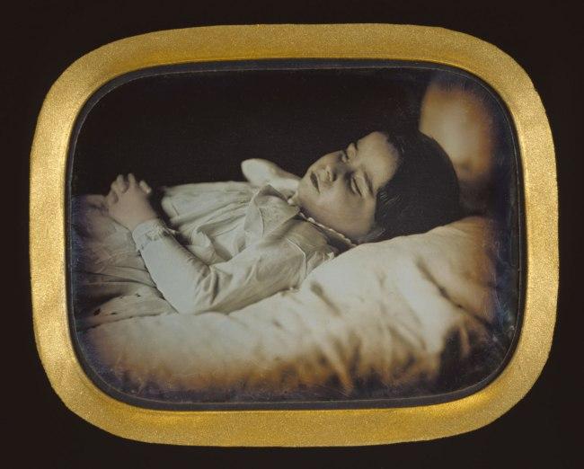 Carl Durheim (Swiss, 1810-1890) 'Postmortem of a Child' c. 1852