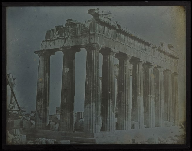 Joseph-Philibert Girault de Prangey (French, 1804-1892) 'Facade and North Colonnade of the Parthenon on the Acropolis, Athens' 1842