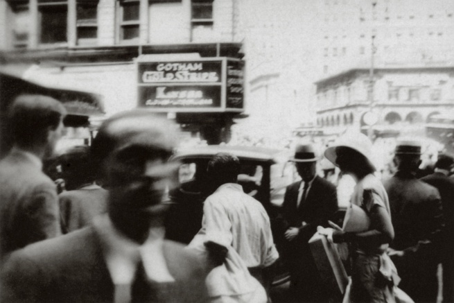 George Grosz. 'Herald Square' New York, 1932