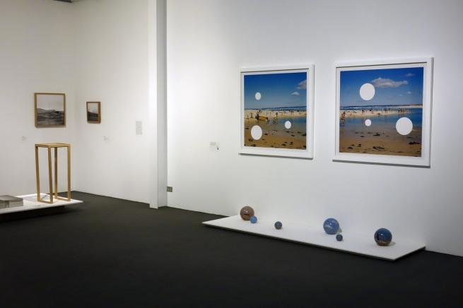 Installation photograph of the exhibition 'Cutting edge: 21st-century photography' at the Monash Gallery of Art