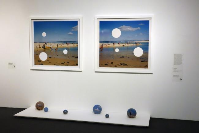 Installation view of Derek KRECKLER. 'Holey 1' 2003
