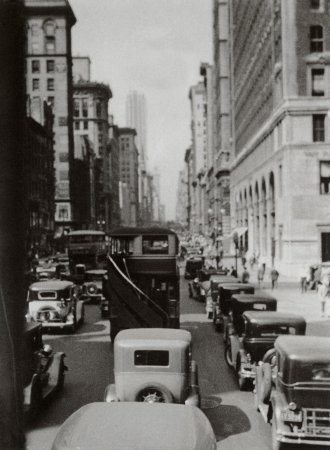 George Grosz. 'Madison Avenue' New York, 1932