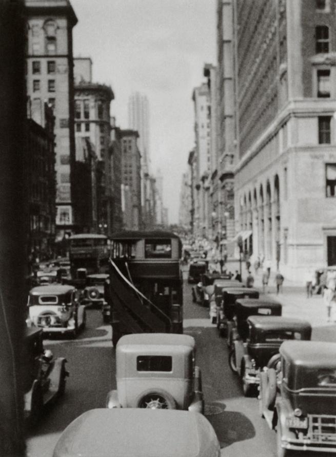 George Grosz. 'Madison Avenue' New York, 1932