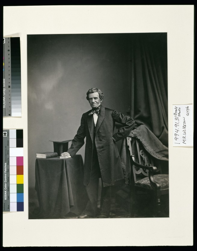Alexander Gardner (1821-1882) 'Samuel Wilkeson' (1817-1889) c. 1859