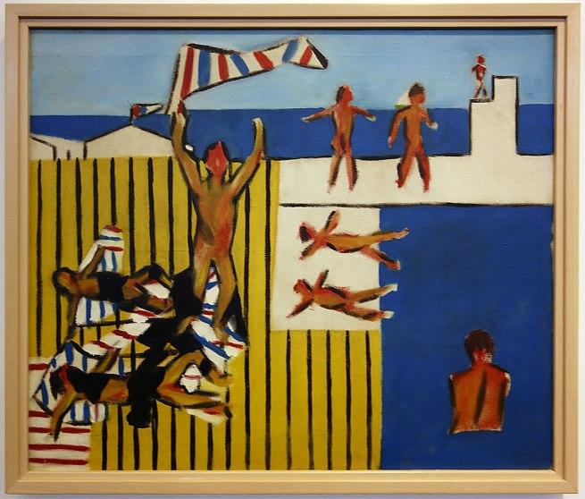 Sidney Nolan (1917-1992) 'Bathers' 1943