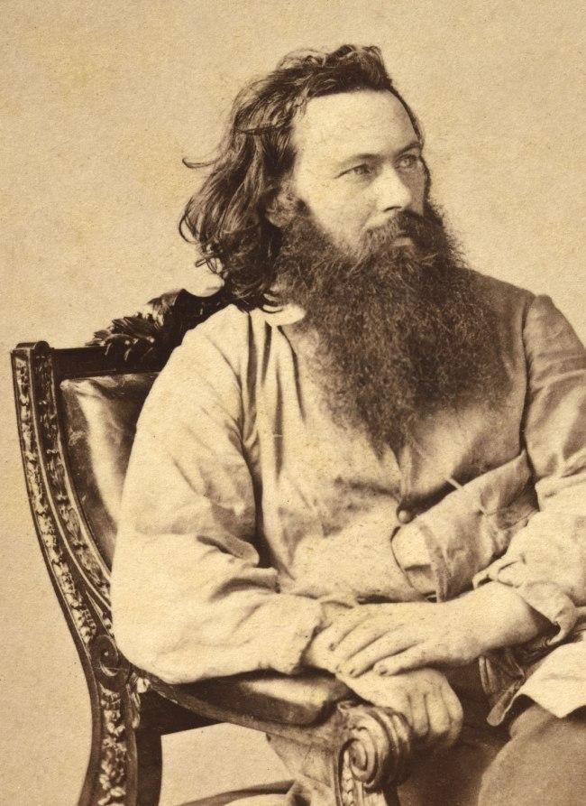 James Gardner. 'Alexander Gardner' 1863 (detail)