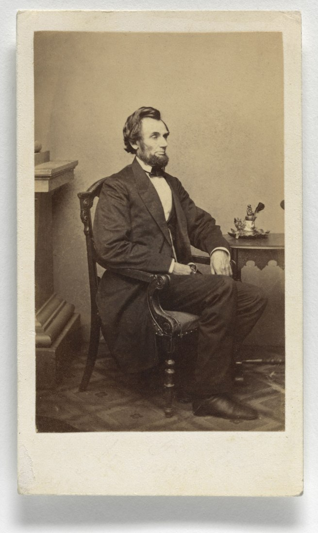 Alexander Gardner (1821-1882) 'Abraham Lincoln' 1863