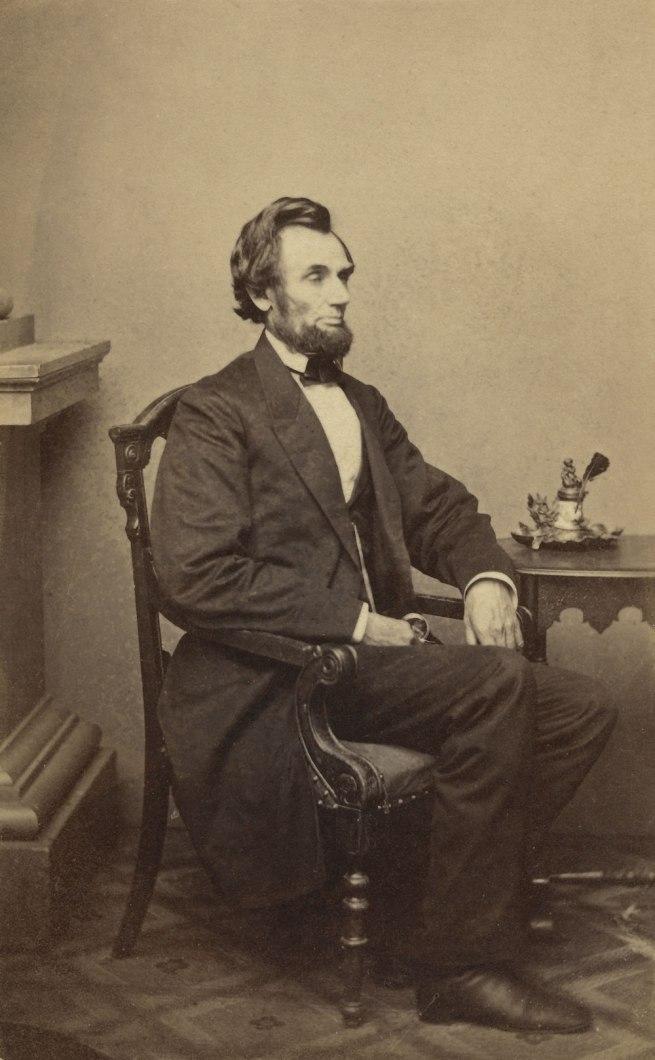 Alexander Gardner (1821-1882) 'Abraham Lincoln' 1863 (detail)