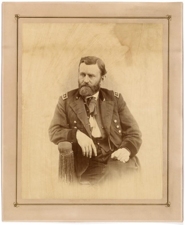 Alexander Gardner (1821-1882) 'Ulysses S. Grant' (1822-1885) c. 1864