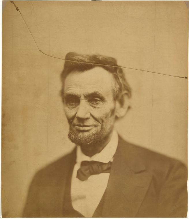 Alexander Gardner (1821-1882) 'Abraham Lincoln' 1865