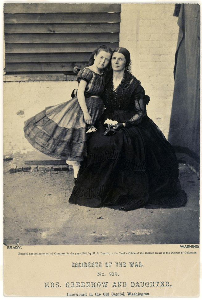 Alexander Gardner (1821-1882) 'Rose Greenhow' (c. 1854-?) and 'Rose O'Neal Greenhow' (c. 1815-1864) 1862