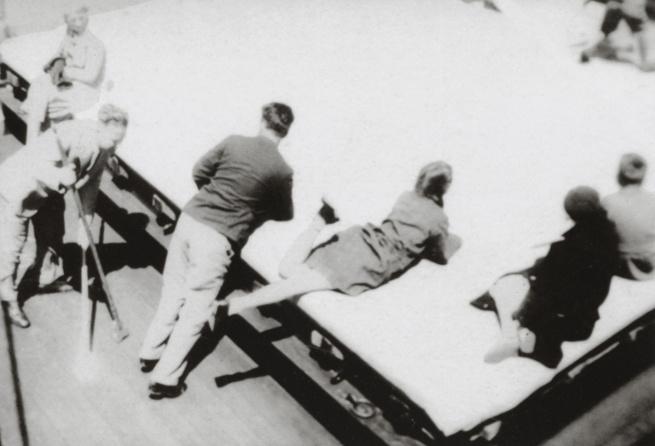 "George Grosz. 'Zeitvertreib an Bord der ""New York"" / Pastime on board the ""New York""' New York, 1932"
