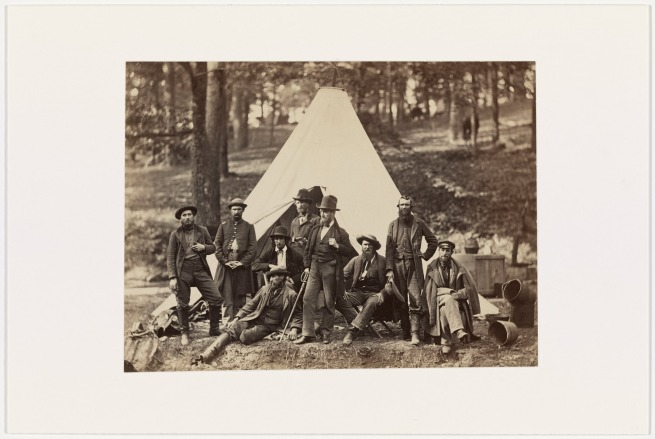 Alexander Gardner (1821-1882) 'Scouts and Guides to the Army of the Potomac, Berlin, MD, October, 1862' October 1862