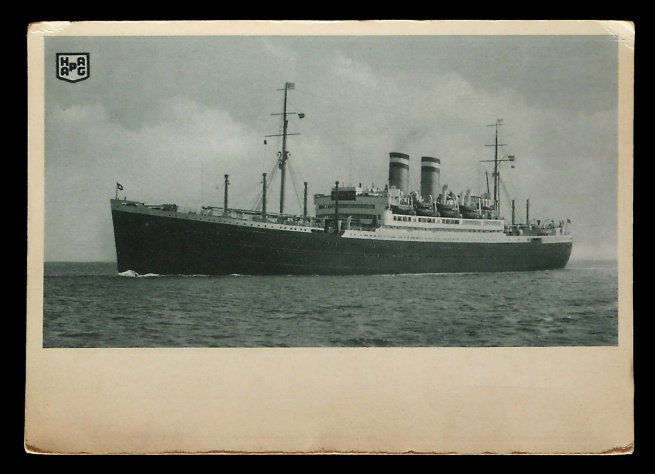 Knackstedt & Co (publisher) 'SS New York' Nd postcard