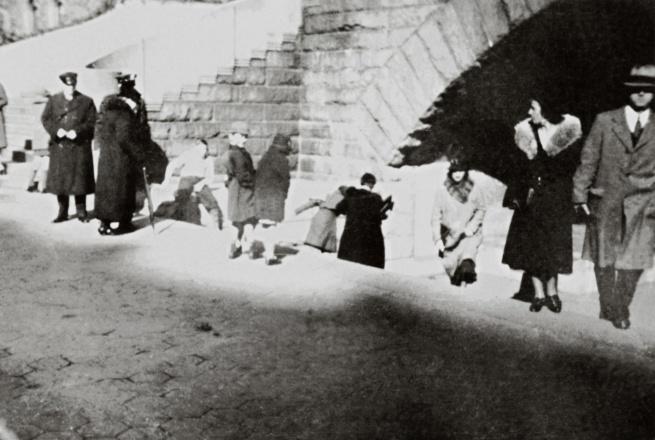 George Grosz. 'Sonntag in Manhattan / Sunday in Manhattan' New York, 1932