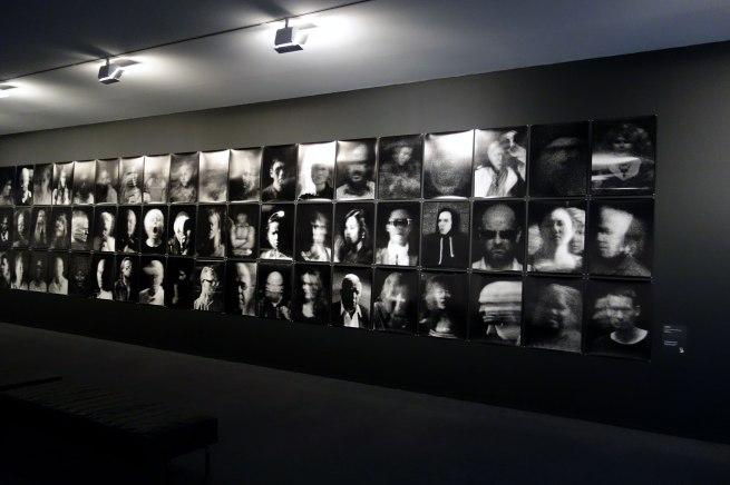 Trent Parke (born Australia 1971) 'The camera is god (street portrait series)' 2013