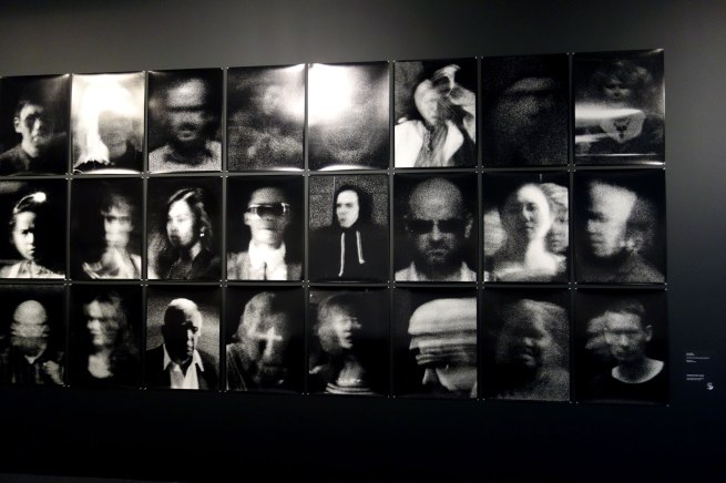 Trent Parke (born Australia 1971) 'The camera is god (street portrait series)' 2013