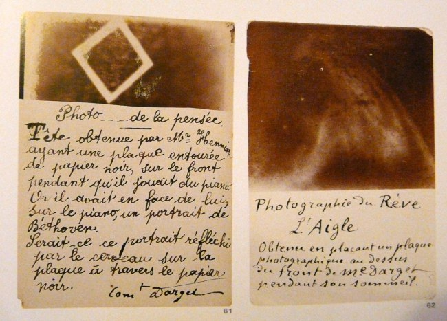 Louis Darget. 'Fluidic Thought-Image Photography' 1896