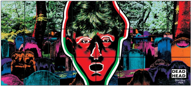 Gilbert & George. 'DEAD HEAD' 1989