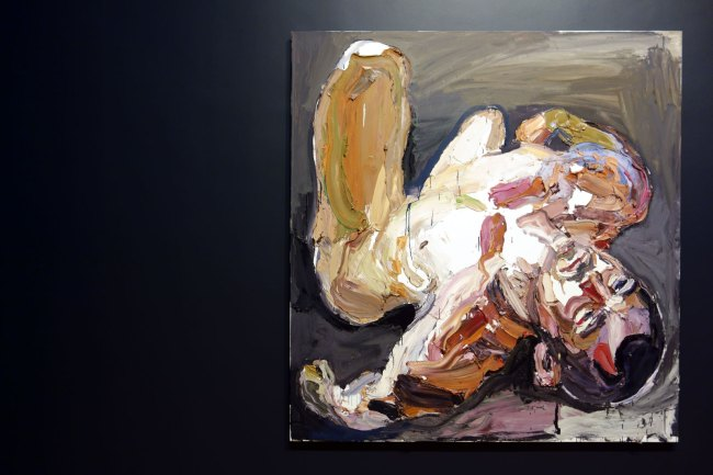 Ben Quilty. 'Lance Corporal M, after Afghanistan' 2012