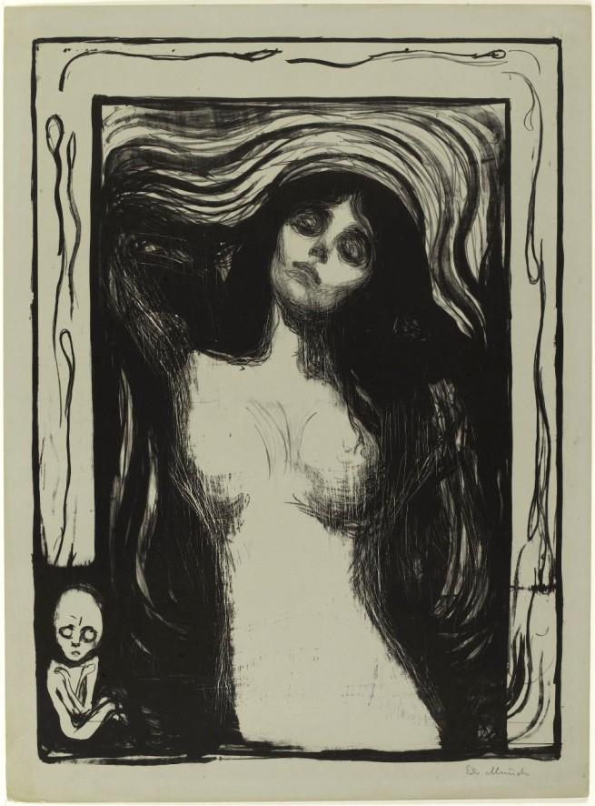 Edvard Munch. 'Madonna' 1895