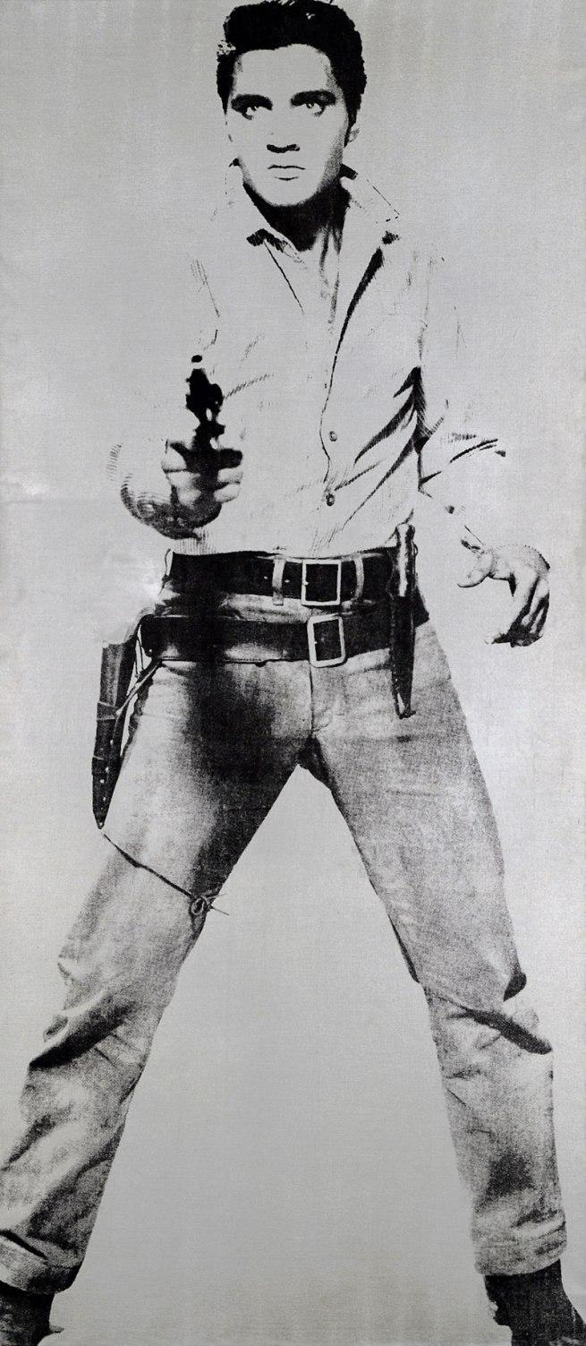 Andy Warhol (American 1928-87) 'Elvis' 1963