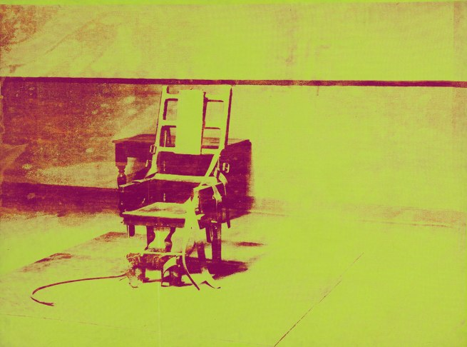 Andy Warhol (American 1928-87) 'Electric Chair' 1967