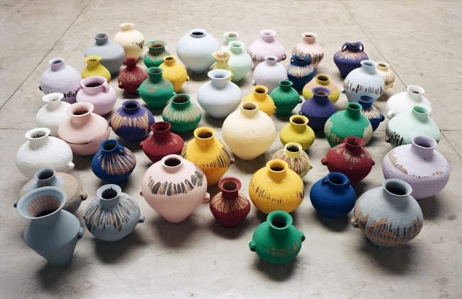Ai Weiwei (Chinese 1957- ) 'Coloured Vases' 2006