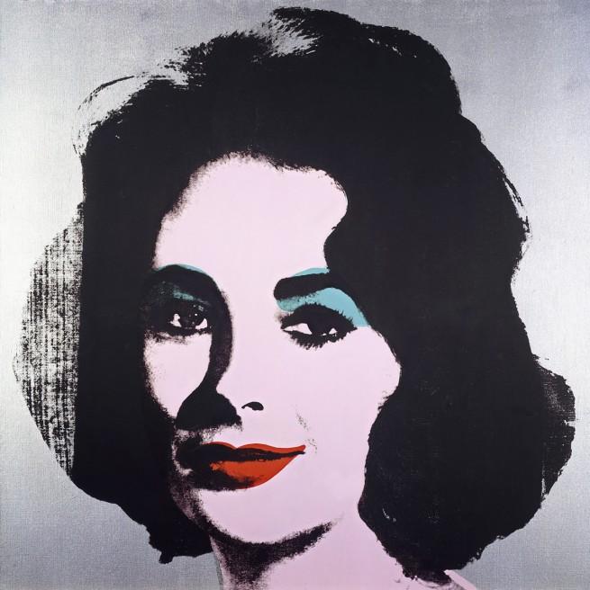 Andy Warhol (American 1928-87) 'Silver Liz [Ferus Type]' 1963