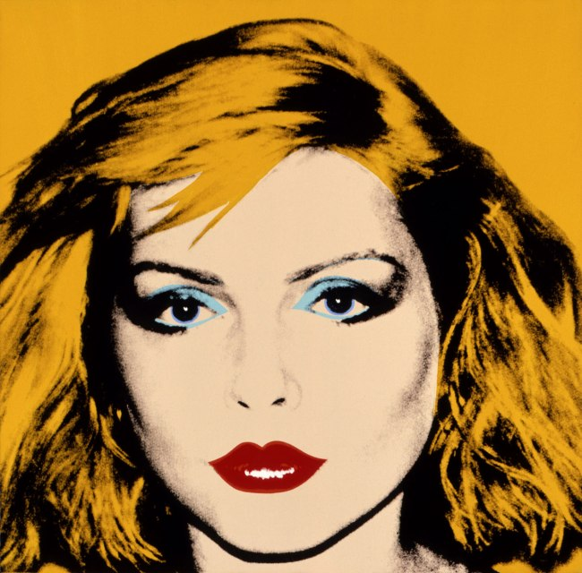 Andy Warhol (American 1928-87) 'Debbie Harry' 1980