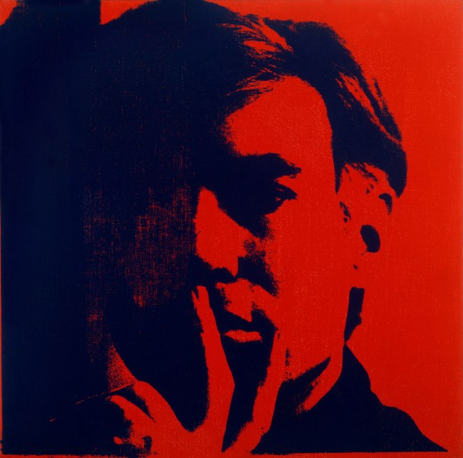 Andy Warhol (American 1928-87) 'Self-Portrait' 1966-67