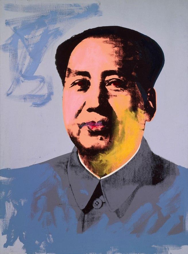Andy Warhol (American 1928-87) 'Mao' 1972