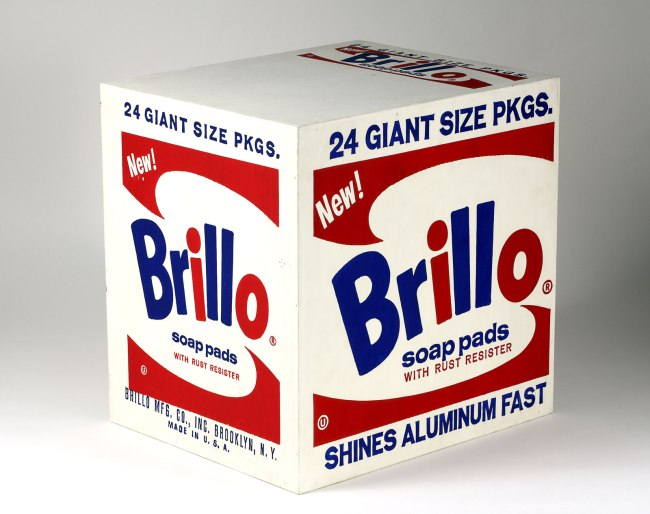 Andy Warhol (American 1928-87) 'Brillo Soap Pads Box' 1964