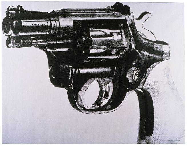 Andy Warhol (American 1928-87) 'Gun' 1981-82