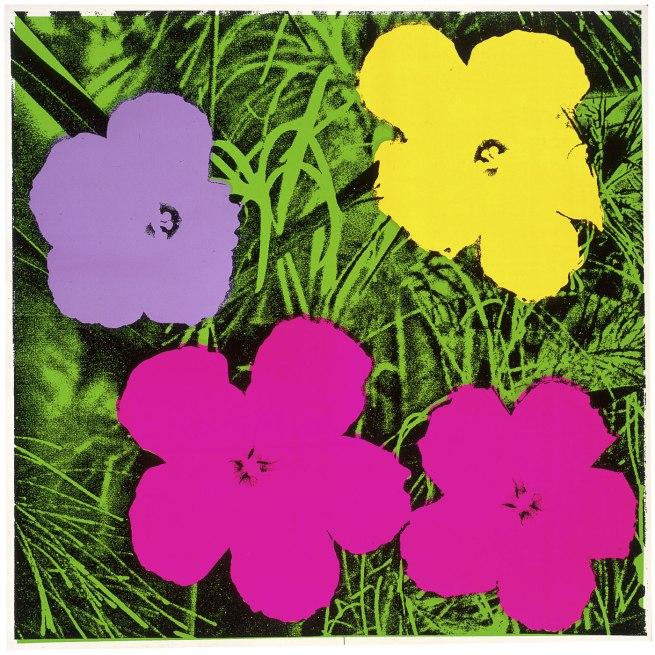 Andy Warhol (American 1928-87) 'Flowers' 1970