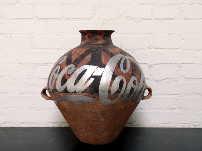 Ai Weiwei (Chinese 1957- ) 'Neolithic Pottery with Coca Cola Logo' 2007