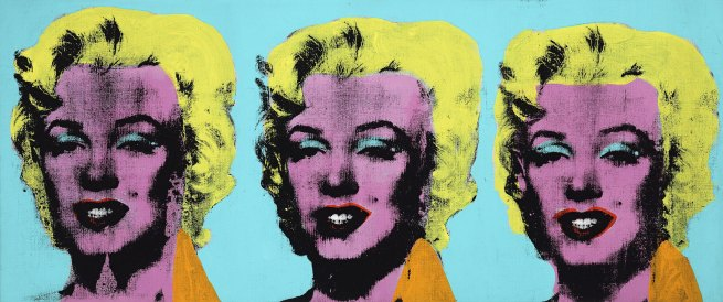 Andy Warhol (American 1928-87) 'Three Marilyns' 1962