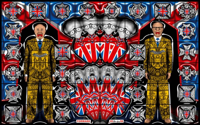 Gilbert & George. 'FORWARD' 2008