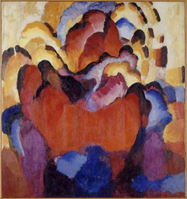 Frantisek Kupka. 'Facture robuste' 1920