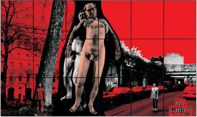 Gilbert & George. 'ILL WORLD' 1994