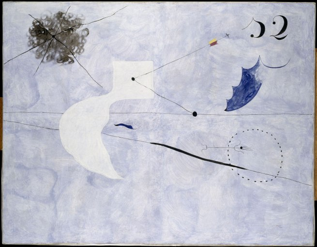 Joan Miró. 'La Sieste' July-September 1925