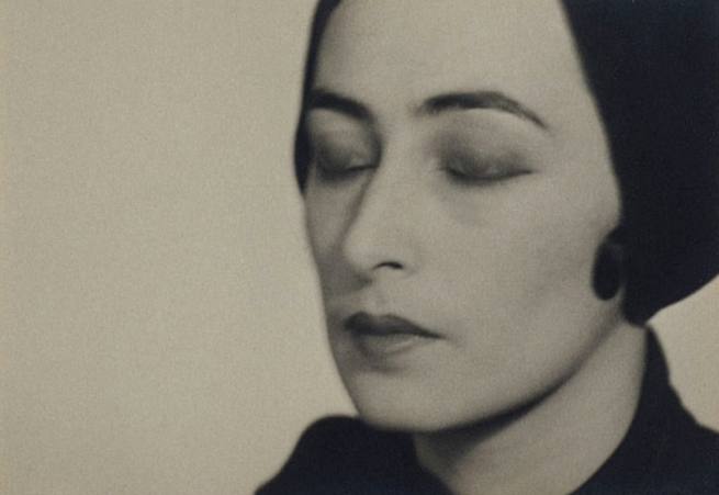 Man Ray (United States of America 1890 - France 1976) 'No title (Woman with closed eyes)' c. 1928
