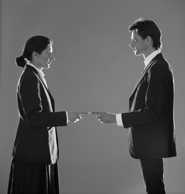 Marina Abramovic and Ulay. 'That Self - Point of Contact' 1980
