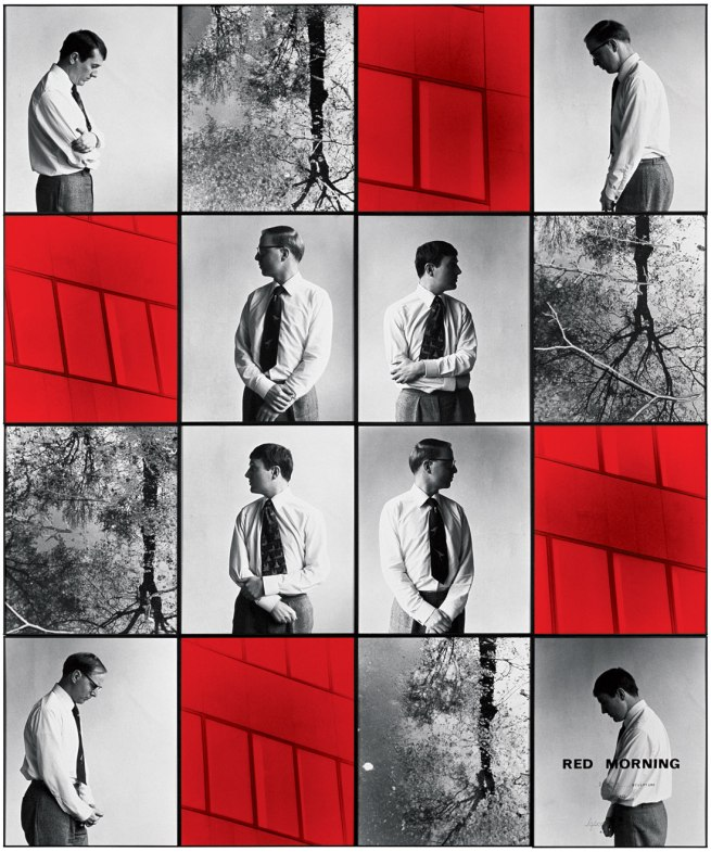 Gilbert & George. 'RED MORNING DEATH' 1977