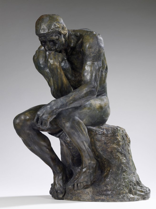 Auguste Rodin. 'Le Penseur [The Thinker]' 1903