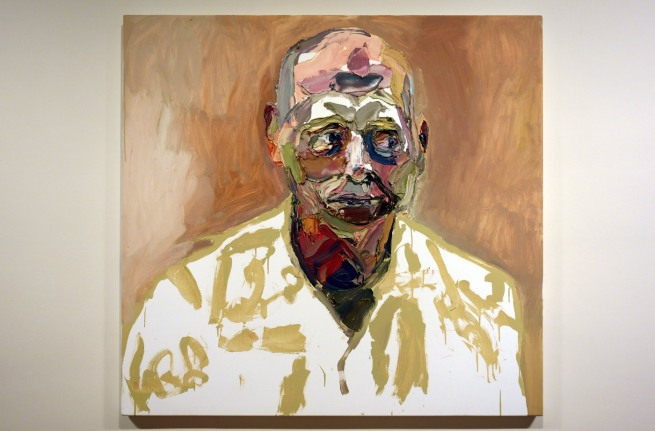 Ben Quilty. 'Air Commodore John Oddie, after Afghanistan, no. 1' 2012