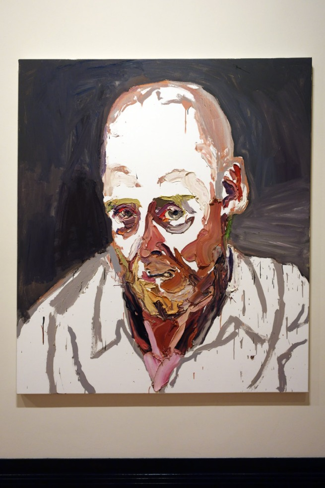 Ben Quilty. 'Air Commodore John Oddie, after Afghanistan, no. 2' 2012